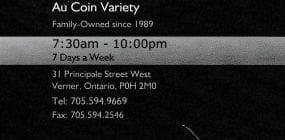 Au Coin Variety